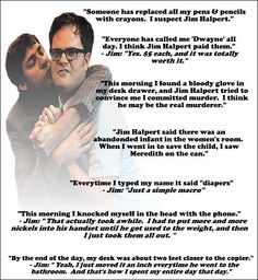 Shenanigans with Dwight and Jim