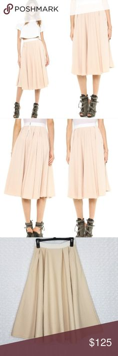 a86e4099344 Torn by Ronny Kobo Cream Textured May Skirt Size S Torn by Ronny Kobo Cream  Textured