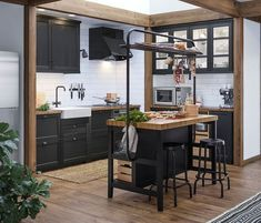 IKEA kitchen the most beautiful models from the Swedish giant Elle Dcoration Küchen Design, House Design, House Kitchen Design, Interior Styling, Interior Design, Elle Decor, Home Furnishings, Kitchen Remodel, Home Furniture