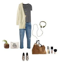 """""""Relax"""" by solespejismo ❤ liked on Polyvore featuring ファッション, rag & bone, Current/Elliott, Étoile Isabel Marant, H&M, Madewell, Lancôme と Charlotte Russe"""