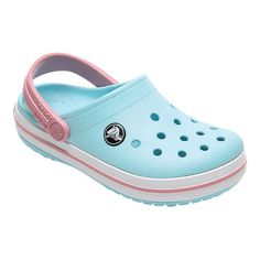 fa0dcc65f8b7 Infants Toddlers Crocs Crocband Clog Kids - Ice Blue White Clogs