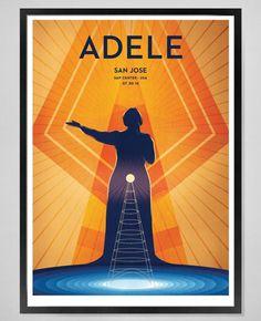 Adele at 'SAP Center', San Jose, CA (July, 30) 1st night #AdeleLive2016 poster
