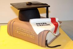#Graduation #Cake http://cakesandcupcakesmumbai.com/2012/12/18/graduation-day-cakes-cupcakes-doctor-lawyer-hairstylist-fashion-engineering-mumbai/#