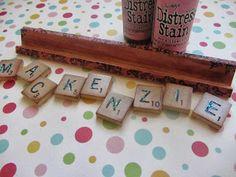 Ideas for Scrabble tiles...
