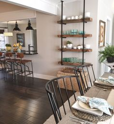 Where we found all the goodies! Renovation from HGTV's Open Concept. Links to all the products used in this photo....