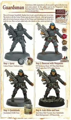 Pdf vengeance citadel to how miniatures dark paint