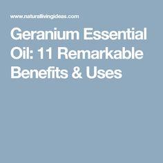 Geranium Essential Oil: 11 Remarkable Benefits & Uses