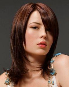 hairstyles for medium length hair - Google Search