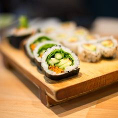 The 9 Most Popular Sushi Rolls - vegetable roll   http://naperville.shintoexperience.com/