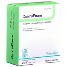 DermaFoam Foam Wound Dressing at HealthyKin.com