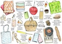 Loving me some picnic ideas! How To Have A Perfect Picnic