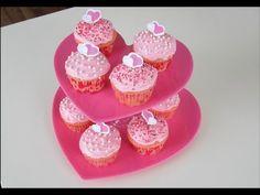 Suporte para Docinhos e Cupcakes de Coração! - Fazendo a Nossa Festa