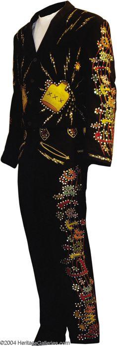 George Jones Stage-Worn 2-Piece Suit Designed by Nudie Cohn