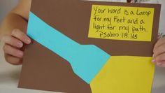 Lamp Unto My Feet Preschool Craft | eHow