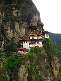 The Tiger's Nest Monastery in Bhutan, photo by soham_pablo