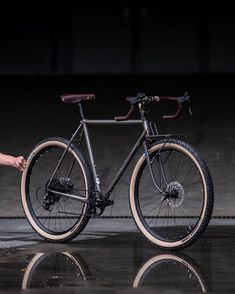 """c98ff60745 Crust Bikes on Instagram: """"The Nor'Easter will come in 4 sizes: 52,55,58  and 62cm. The one seen in this picture is a 55cm and is designed around 26  x 2.8 or ..."""