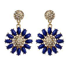 Fern Earring | Amrita Singh Jewelry | Blue earrings