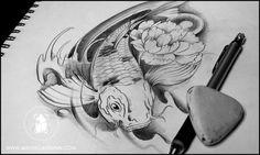 Koi-carp-sketch-dunn-001