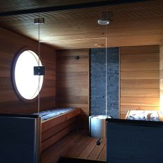 Finnish sauna at its best. Sauna Shower, Spa Sauna, Sauna Steam Room, Sauna Room, Bathroom Spa, Bathroom Layout, Bathroom Ideas, Sauna Ideas, Sauna Design