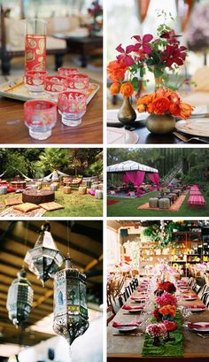 Moroccan themed party