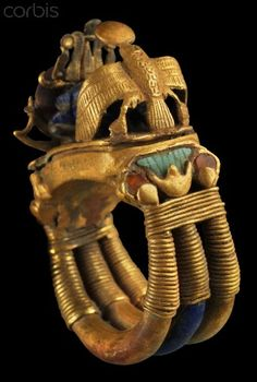 EGYPT - Ring from tomb of Tutankhamun
