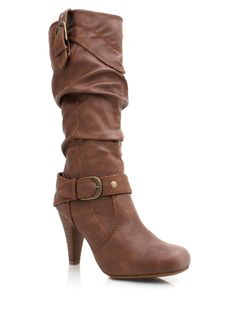 slouchy buckled leather boots  LOVE!! Just bought from GoJane.com