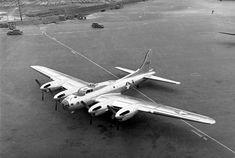 The XB-38 Flying Fortress was a single example conversion of a production B-17E Flying Fortress, testing whether the Allison V-1710 V type engine could be substituted for the standard Wright R-1820 radial engine during early World War II