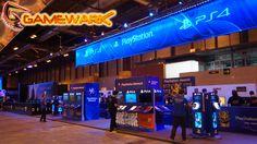 El stand de Sony era enorme, en este caso es la zona de PlayStation Awards.