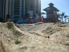 Fun in the sand and sun. In Miami.