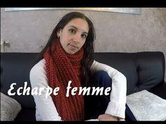 002361ddb1e2 Une écharpe aussi belle que douce   Bergère de France     knitting scarf