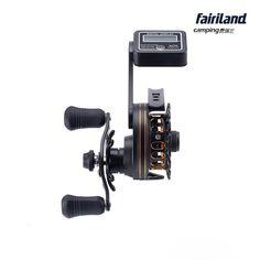 "Fairiland | 65mm(2.56"") 6BB Full Metal Raft Fishing Reel Left/Right Hand with HD…"