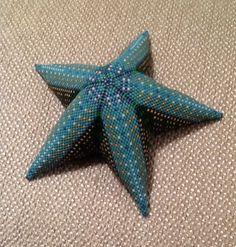 Large Beaded Starfish by Sally Shore Bijoux