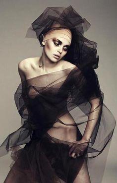 Valeriia Karaman by Paul Morel for OOB Magazine | Fashion photography | Nude Art