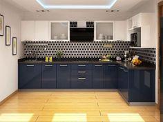 Cocinas en L que te van a gustar si tu casa es pequeña #cocinasmodernasmadera