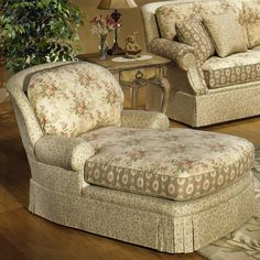 9829 Chaise by Craftmaster