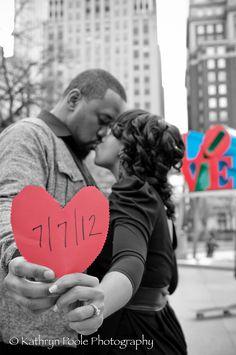 Engagement Photo at Love Park, Philadelphia, PA… Engagement Pictures, Engagement Shoots, Engagement Photography, Wedding Engagement, Wedding Photography, When I Get Married, I Got Married, Wedding Portraits, Wedding Photos
