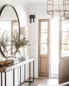 Foyer decorating – Home Decor Decorating Ideas Foyer Lighting, Dining Room Lighting, Lighting Ideas, Pendant Lighting, Entry Foyer, Entryway Decor, Front Entry, Entryway Stairs, Garage Entry