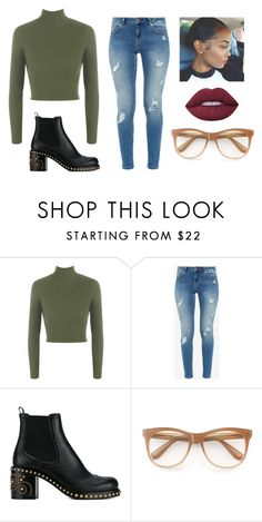 """""""Why'd you even say that?"""" by trademarkedstyles ❤ liked on Polyvore featuring WearAll, Ted Baker, Miu Miu, Wildfox and Lime Crime"""