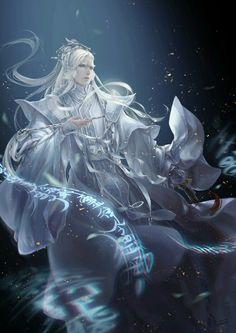 Makes me think of Ishi Fantasy Art Men, Anime Fantasy, Fantasy World, Dark Fantasy, Manga Anime, Anime Art, Fantasy Characters, Anime Characters, Character Concept