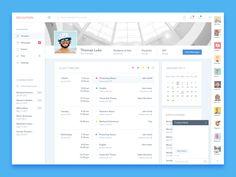 Student Profile UI Design – SiteUp