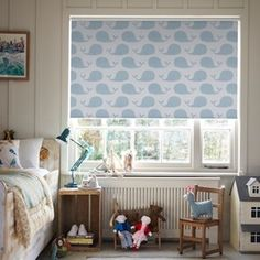 Whalesby Ocean Blue Pvc Blinds, Sheer Blinds, House Blinds, Blackout Blinds, Blue Roller Blinds, Sit Back, Fabric Samples, Skylight, Grey And White