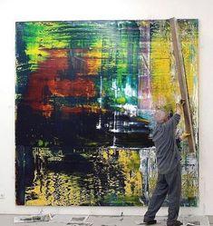 """Nazem Art na Instagrame: """"#gerhardrichter #art #artist #artwork #contemporaryart"""" Gerhard Richter, 21st Century, Happy Birthday, Instagram, Artist, Painting, Artwork, Abstract Art, Happy Brithday"""