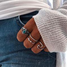 Silver Accessories, Fashion Accessories, Fashion Jewelry, Cute Jewelry, Beaded Jewelry, Silver Jewelry, Magical Jewelry, Layered Chains, Accesorios Casual