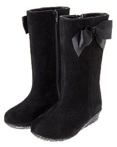 Bow Wedge Boots from Crazy8.
