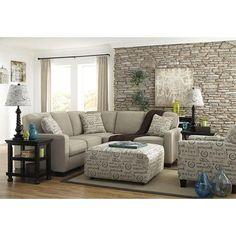 Alenya 2-Piece Sectional in Quartz | Nebraska Furniture Mart