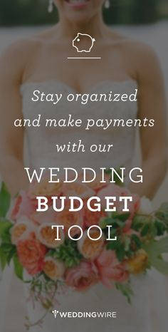 Wedding Budget - Our wedding budget planner will help you track and adjust the expenses for your big day. Simply enter your budget to calculate, track and export a budget breakdown. Wedding Expenses, Budget Wedding, Wedding Tips, Wedding Details, Diy Wedding, Fall Wedding, Rustic Wedding, Wedding Planner, Destination Wedding