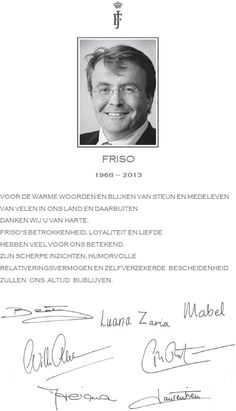 Dankwoord koninklijke familie (overlijden prins Friso - Thank you from the Royal Family on the death of Prince Friso Crown Princess Victoria, Crown Princess Mary, Dutch Princess, Nassau, Pippa Middleton, Royal Familie, Royal Dutch, Thanks Words, Dutch Royalty