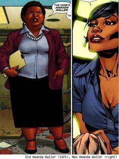 The Full-Figured Amanda Waller Now Skinny in DC Comics Relaunch