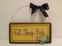 Mom's Gone Fishing by Judy on Etsy