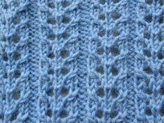 Sok ajour nr 3 geeft een lekker rekbaar en ook luchtig breiwerk. De naam zegt het al: het motief is heel geschikt voor sokken.